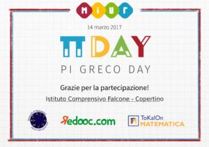 Diploma Pi Greco Day