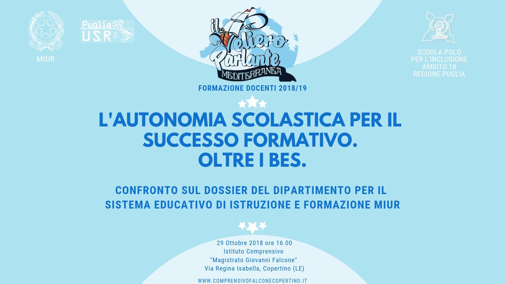 L'autonomia scolastica per il successo formativo
